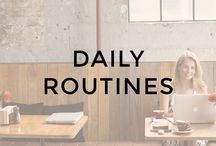 Daily Routines for Entrepreneurs / entrepreneur life, life of an entrepreneur, lifestyle entrepreneur, online business, daily routine, successful entrepreneurs, morning routine, my daily routine, daily rituals, healthy daily routine, daily routine for healthy life, habits of successful people, daily habits of successful people, entrepreneur daily schedule