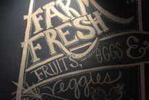 Chalk Art / Awesome chalk art at the restaurant.