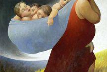 maternity art