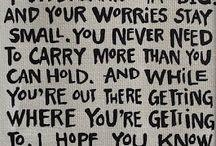 Song lyrics / by Jamie Marie