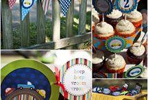Gabe's birthday ideas! / by Tiffany Starling