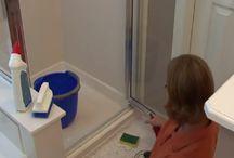 faire disparaître les résidus de savons dans la douche