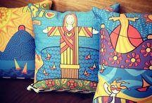 Produtos com Ilustrações de Mônica Fuchshuber / Fotos e imagens de produtos produzidos com minhas ilustrações. || Photos and images of products produced with my illustrations. || LOJA/STORE: https://www.colab55.com/@monicafuchshuber || https://society6.com/monicafuchshuber