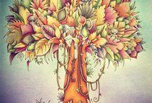 Magical jungle/arbre