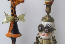 totem sculptures