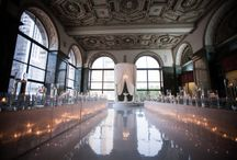Chicago Cultural Center / wedding flowers and decor