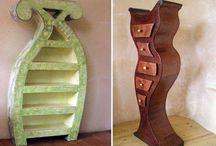 Pap møbler