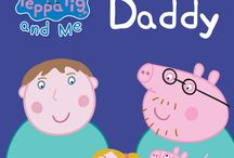 Father's Day - Gifts for Dad / Become a star of your own  Personalised Peppa Pig Book My Daddy / by Penwizard