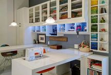 Sewing and Craft room ideas / Designs for Sewing and Craft rooms for your custom designed home. inspiration and ideas to be incorporated in your new custom designed home