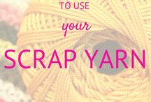 Great ways to use leftover yarn