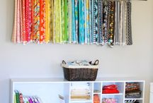 Sewing Room Organization Ideas / In a perfect world my sewing room would look like...