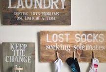 Smart solution utility room