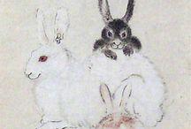 (1831-1889)河鍋暁斎 Kawanabe Kyōsai