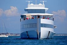 Mega Yachts / This board showcases some amazing mega yachts and other insane water craft.