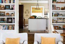 Bookshelves / by Kristin Walters