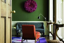 Colour on the wall...