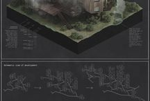 Architectural Presentation Layouts / Layouts of Architectural presentations