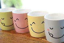 Mugs ,Cups & Glasses / Bekers enz.