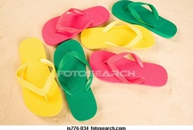 Dana & Flip Flop ❤ / I ❤ Flip Flops, they are great year round. Flip Flops on the beach, pool, house, DIY deco, as crafts, as decor and so much more.