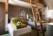Shared Bedroom Ideas / How-to ideas for shared kids' bedrooms