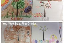Second Grade Seasons / by Kensi Sauley