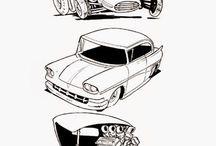 Рисунки транспорт