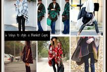 Six Ways to Style a Blanket Cape