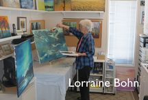 Lorraine Bohn / Gimli artist Lorraine Bohn, Studio #26 on the WAVE tour. / by WAVE Artists