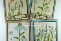 Inspired by Nature-Retired / Made using Stampin' Up! Inspired by Nature (retired) stamp set.