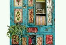 Bohemian style Furniture Finishes