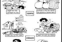 Atividades de educação infantil