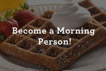 Breakfast Ideas / Wake up on the right side of the bed with breakfast recipes that are as enjoyable to make as they are to eat. Because everyone deserves a good morning. / by Nestle Very Best Baking