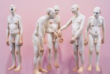 Groups of sculptures