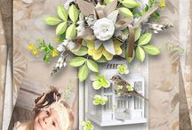 Scrapette Designs / by Angelique's Scraps ( digital scrapbooking)