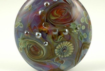 Lampwork and other great glass / Handmade glass beads and other examples of terrific glass work.