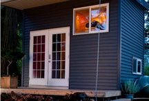 Tiny Homes / Small cabins, cottages and homes / by Ken Dusenberry