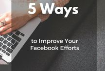 Social Media Tips | Blogging | Content / tips to improve your social media for your brand and business.