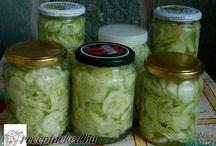 Téli savanyúság,saláta