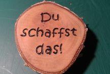 08 ~ Meine Brandmalereien - Kleine Helferlein / Solche Dinge kann ich auch für dich/Sie basteln. Shop siehe unter www.ralfs-basteleien.de.