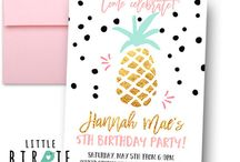 Summer Party Ideas Luau Pineapple Party