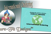 International Ordering from Sure-Fit Designs