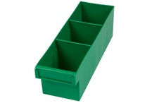 Spare Part Trays / Spare part trays are made from polypropylene to resist solvents and oils, available in various color and supplied with removable dividers to manage your plastic storage systems.