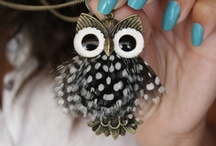 Owl Jewel / these  cute noisy creatures get into our looks! / by Patricia Bourdel