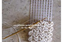 Crochet plastic