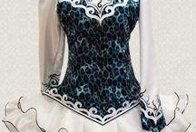 Traditional irish Dance dresses 2011 Doire Dress Designs / Early work by Shauna Shiels