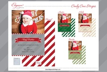 Holiday Cards by Elegance on Paper / by Seating Chart Boutique