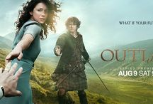 OUTLANDER I - / The first part of Claire Randall Fraser and the photos from the film