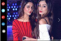 Sonali Katyal and Etansha Gupta, Nitin Chawla's event, Timesofindia.com