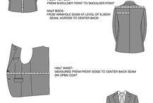 Men suit measurements
