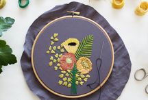 Wonderful Wednesday / On Wednesdays I feature embroidery patterns and kits on Feeling Stitchy. Visit us at www.feelingstitchy.com.